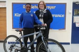 Winn Group promote healthier lifestyles and improved attendance at local school